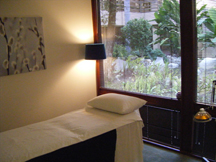 Acupuncture Treatment Room at Creative Integrations